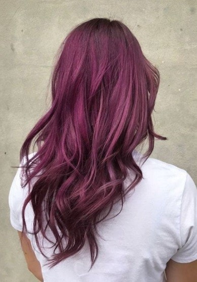 10 Best Red And Purple Hair Colour Ideas To Try In 2020,Brown And Gray Bedroom