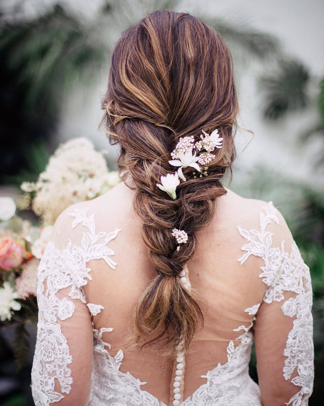 Wedding Hairstyles With Box Braids: 47 Stunning Wedding Hairstyles All Brides Will Love In 2019