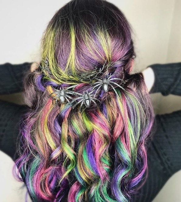 31 Easy Halloween Hairstyles Perfect For Your Virtual Events