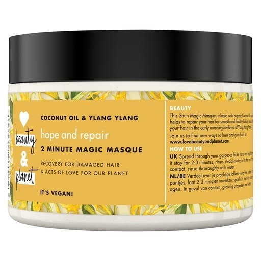 Love Beauty And Planet Hope & Repair 2 Minute Magic Masque