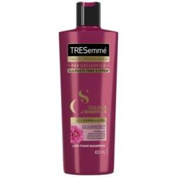 Pack shot of the TRESemme Shineplex Shampoo