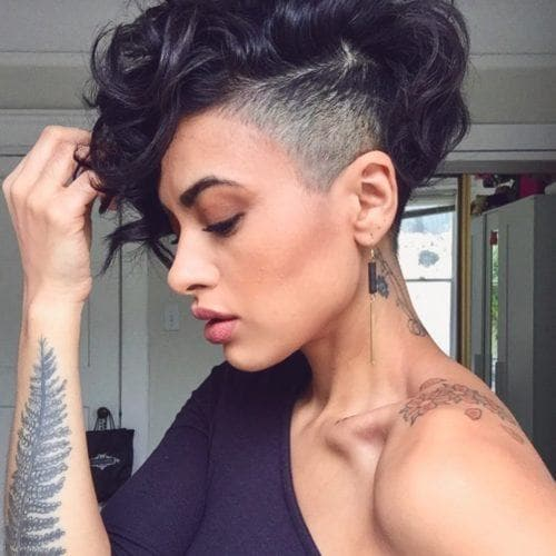 28 Bold Shaved Hairstyles For Women Shaved Hair Designs
