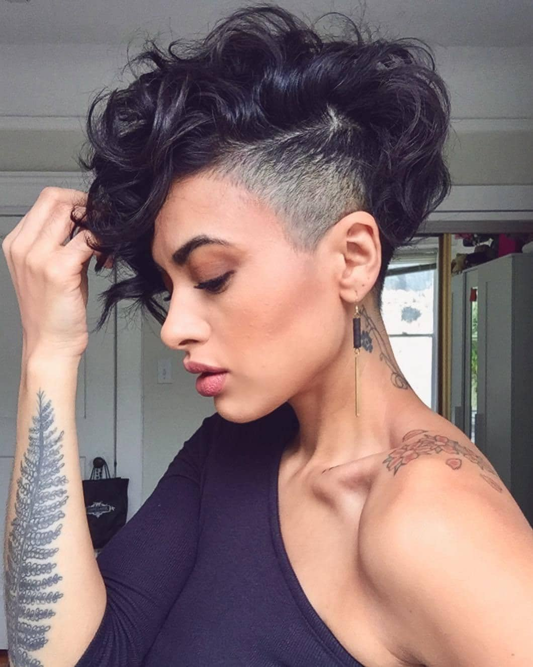 Magnificent 28 Bold Shaved Hairstyles For Women Shaved Hair Designs Natural Hairstyles Runnerswayorg