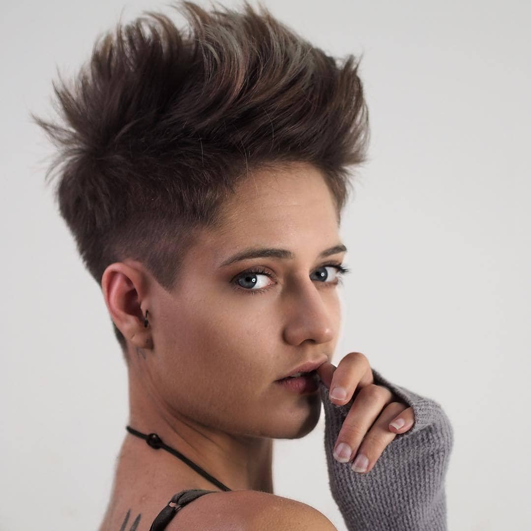 Excellent 28 Bold Shaved Hairstyles For Women Shaved Hair Designs Natural Hairstyles Runnerswayorg