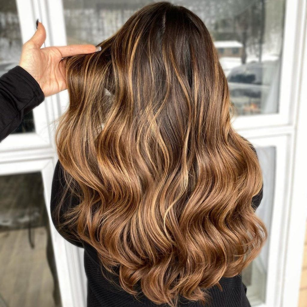 12 Caramel Highlights Ideas for Light and Dark Brown Hair (12