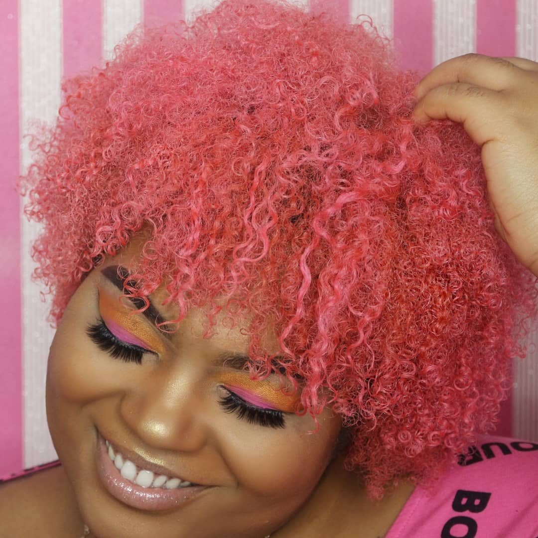 Real Hair Story: How Dyeing My Natural Hair Pink Has Helped My Mental Health