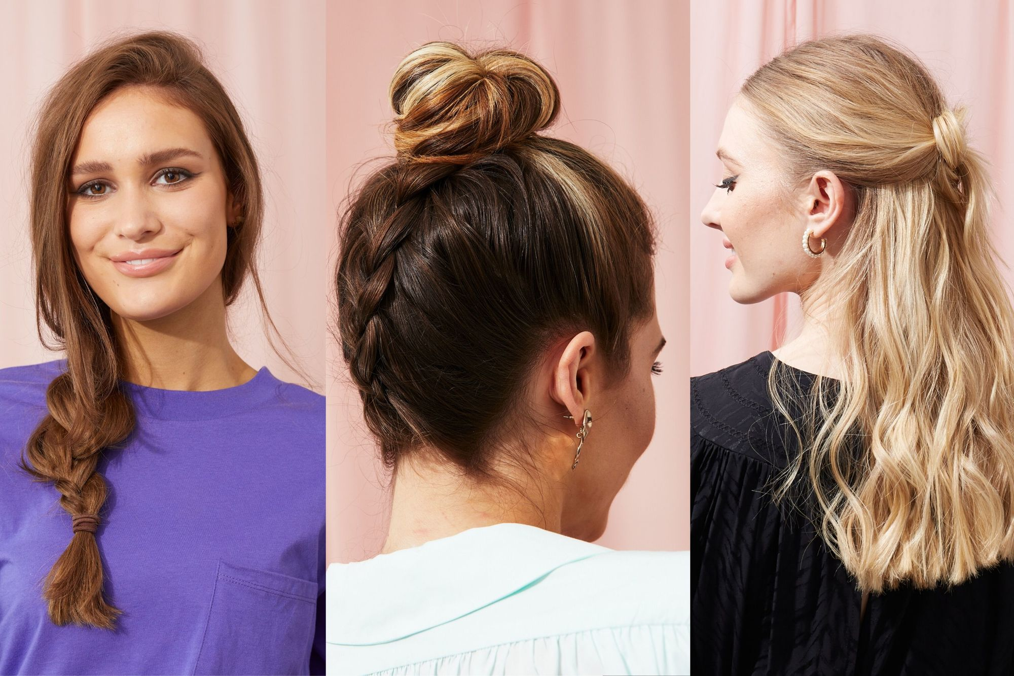 11 Easy Hairstyles That Take 11 Minutes or Less To Achieve