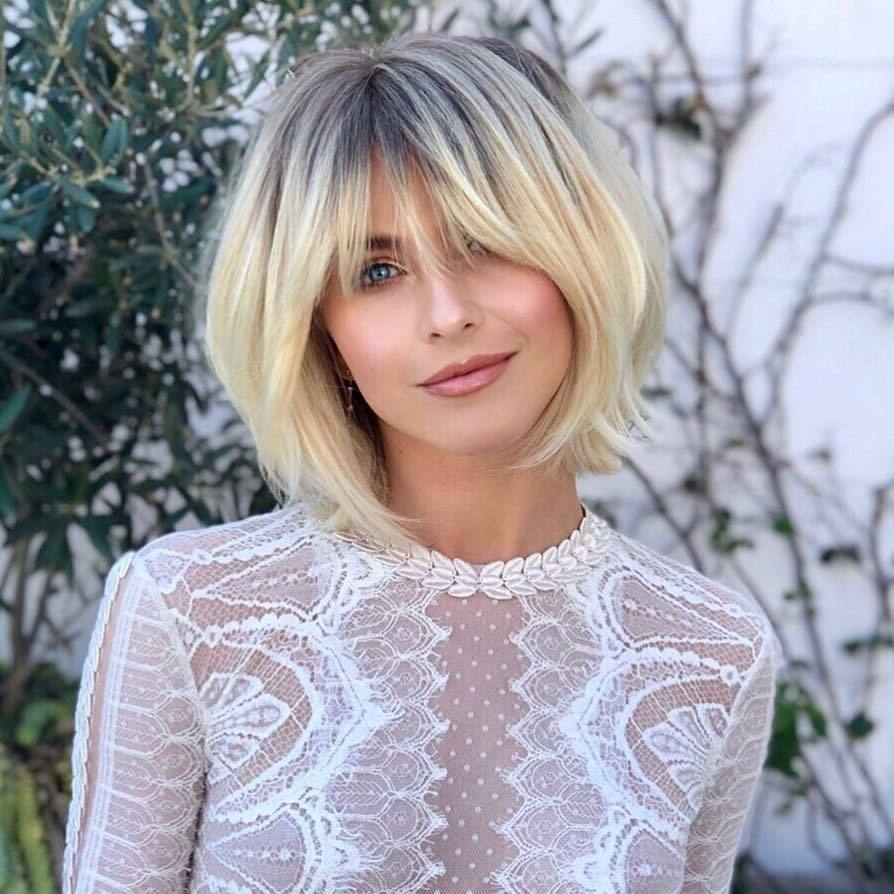 50 Best Short Bobs With Bangs Haircuts