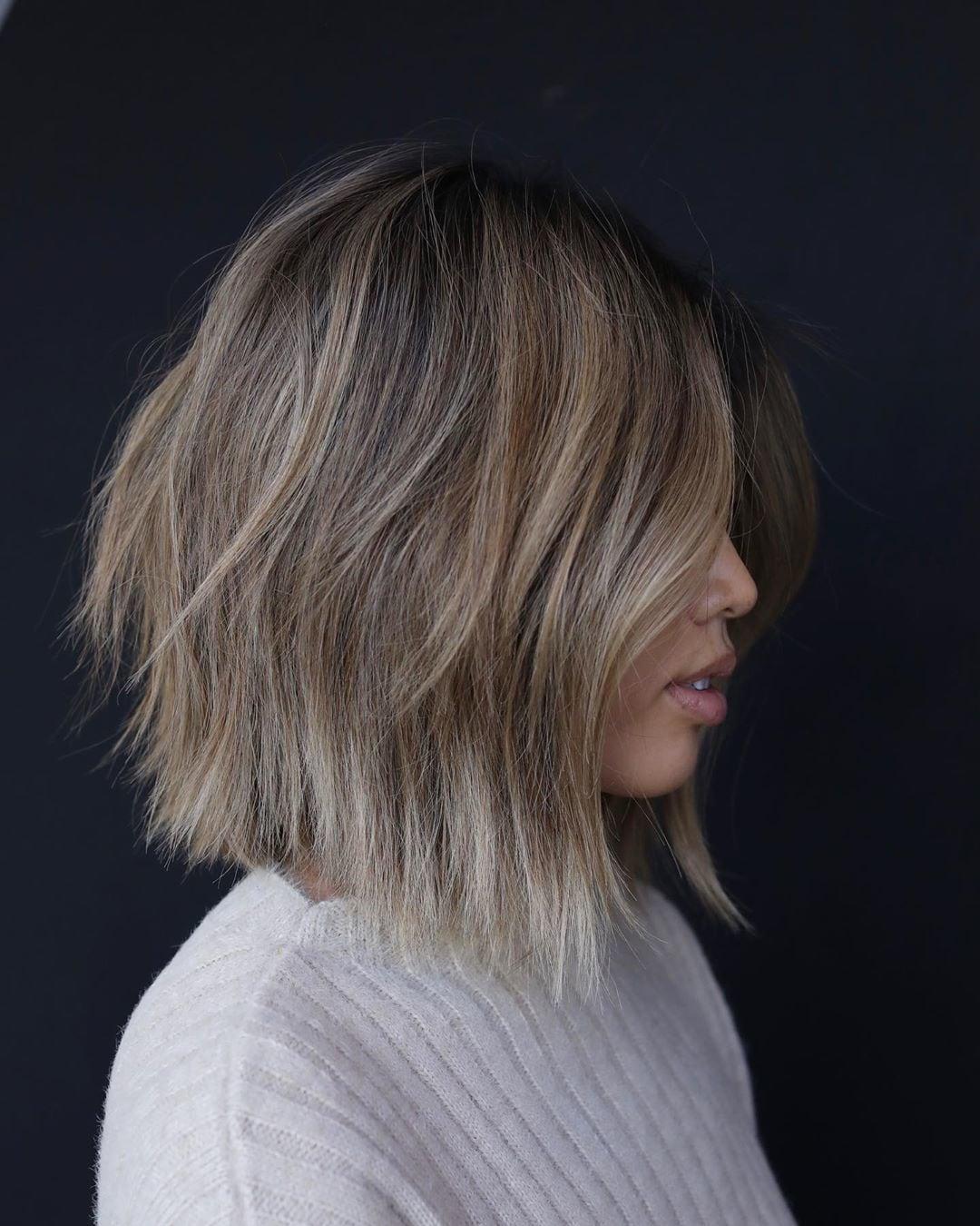 56 Trending Choppy Bob Haircuts For 2020 Best Bob Haircut Ideas