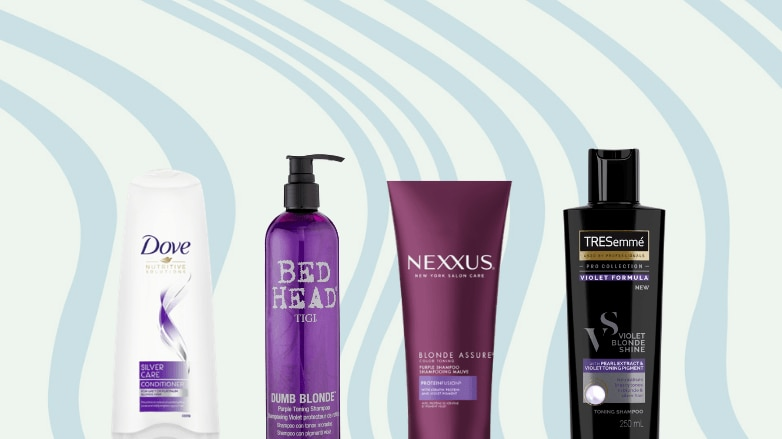 Best purple shampoo products from Dove, Bed Head, Nexxus and TRESemme