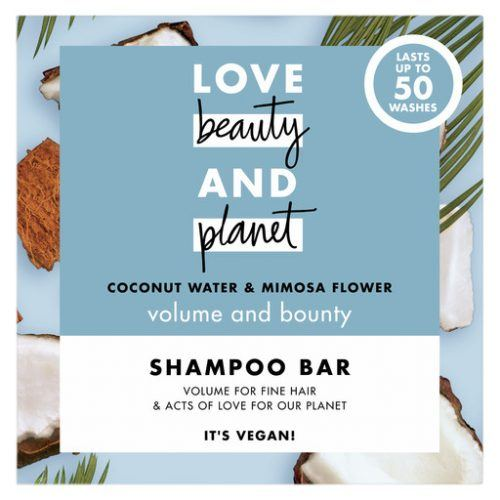 Love Beauty And Planet Coconut Water & Mimosa Flower Shampoo Bar