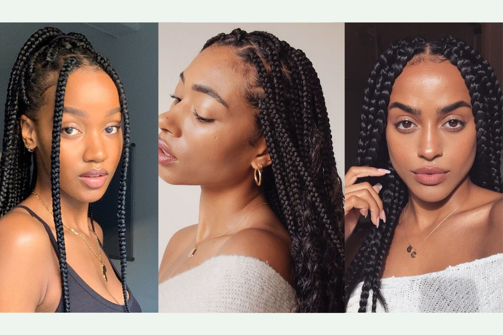 52 Best Box Braids Hairstyles For Natural Hair In 2021