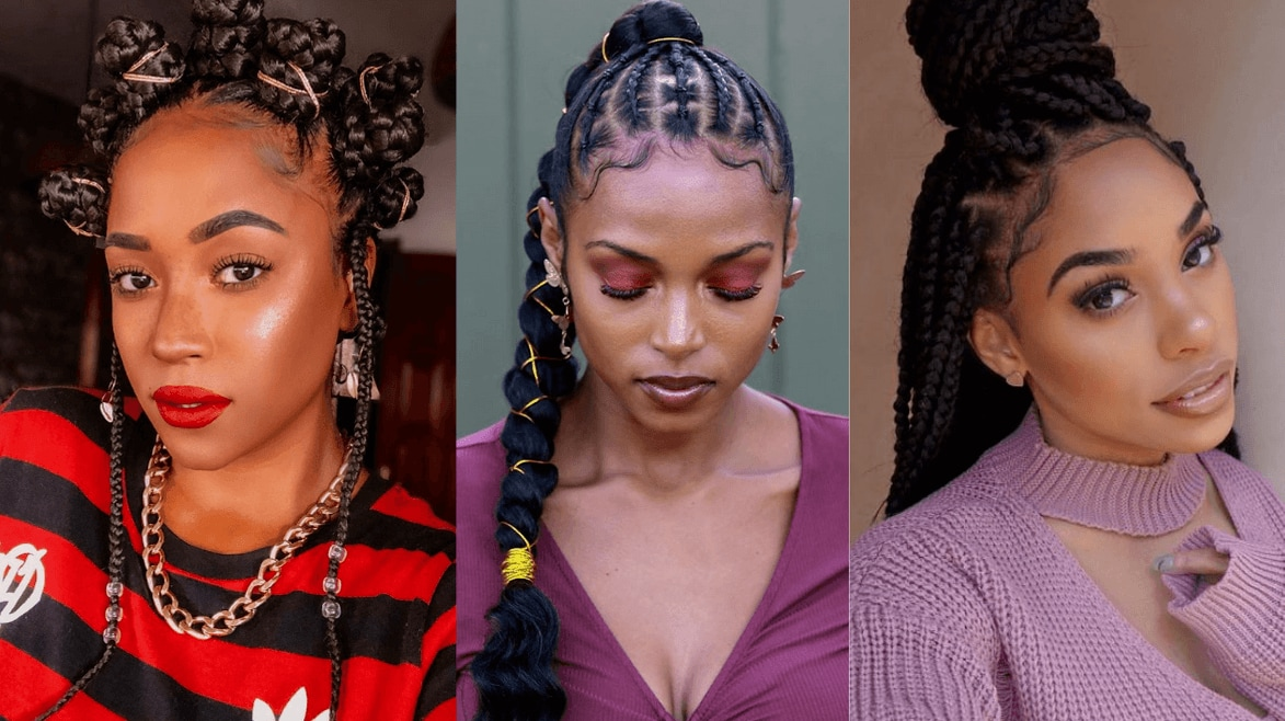105 Best Braided Hairstyles For Black Women To Try In 2021