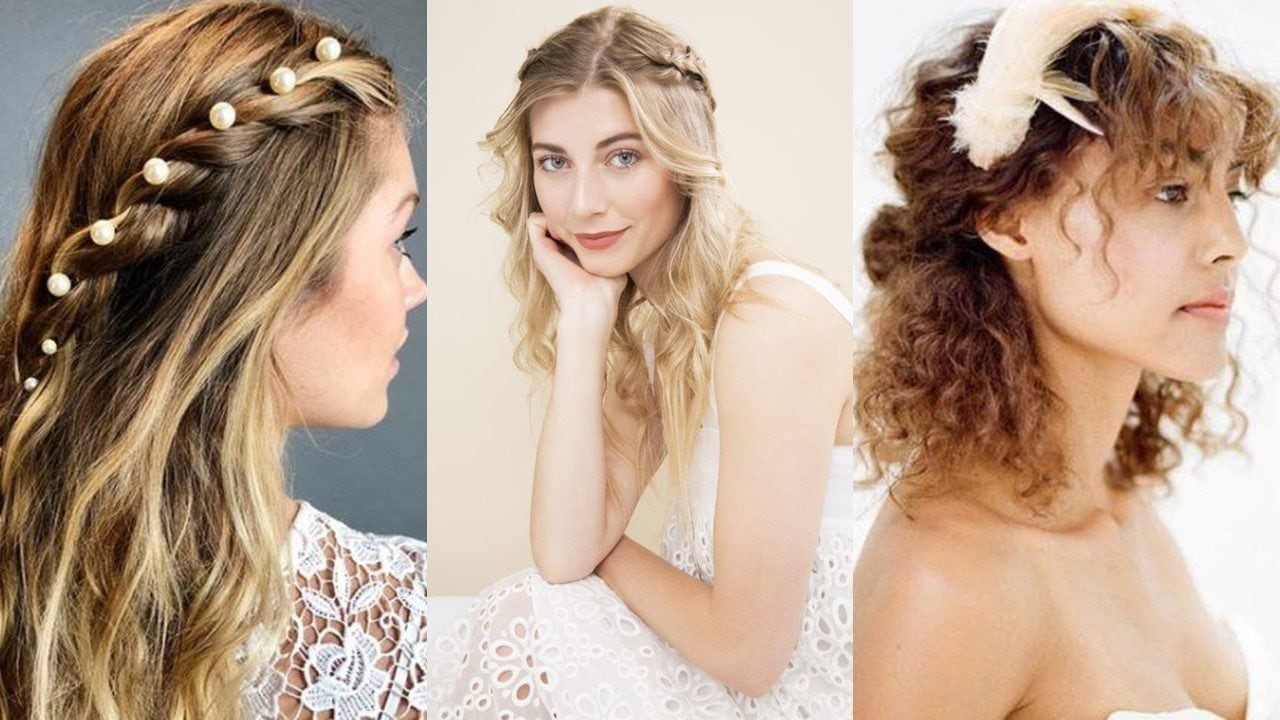 30 Half-up, Half-down Prom Hairstyles You'll Love
