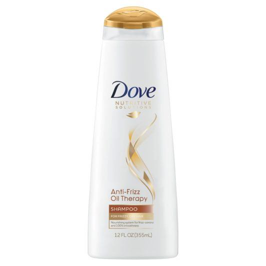 DOVE NUTRITIVE SOLUTIONS ANTI-FRIZZ OIL THERAPY SHAMPOO