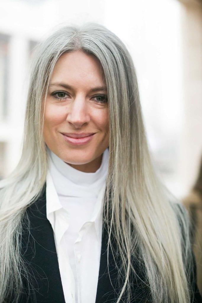 color temporal del pelo