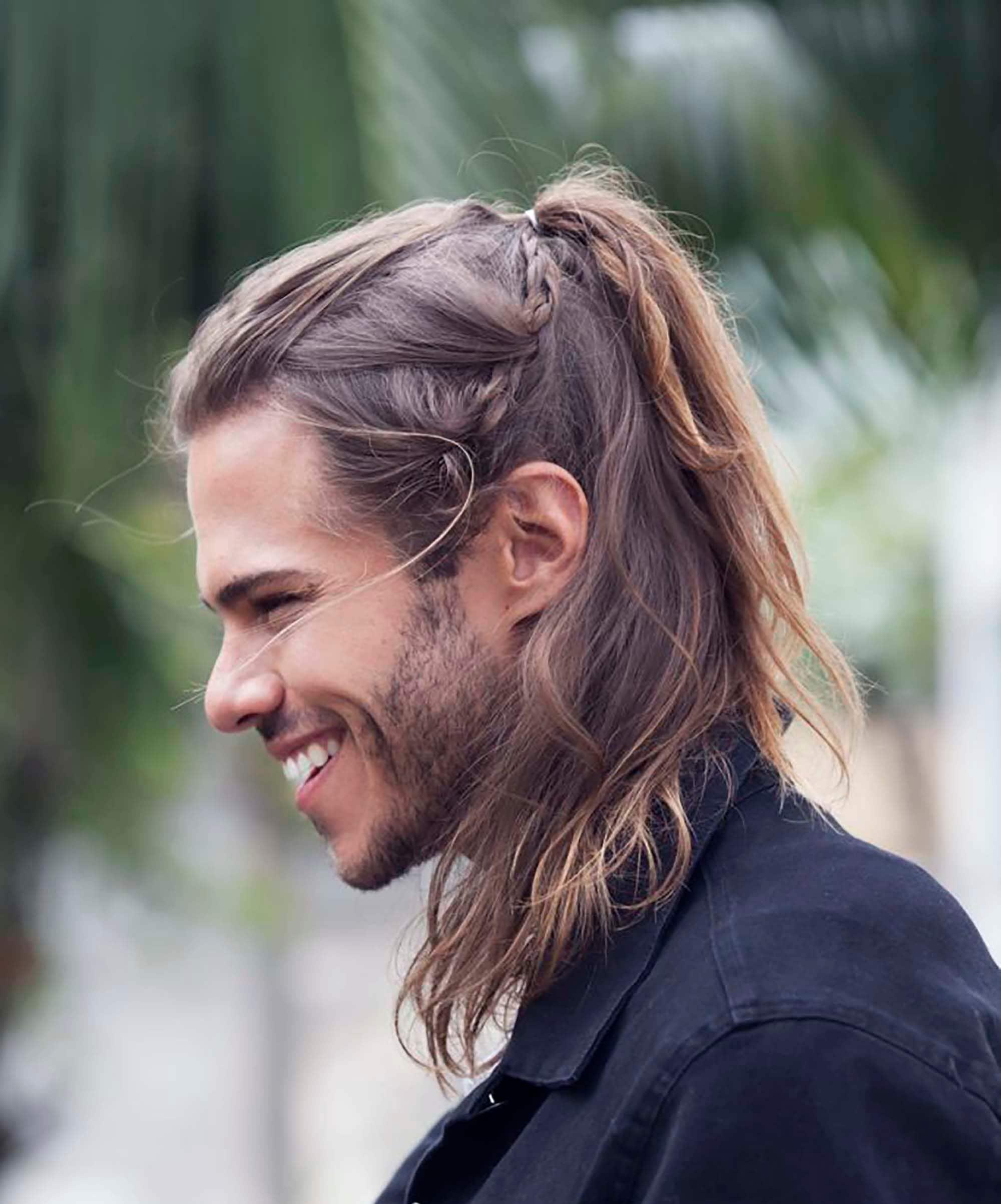 Fascinante peinados largos hombre Colección de ideas de color de pelo - 7 Peinados de hombres de pelo largo súper cool para ...