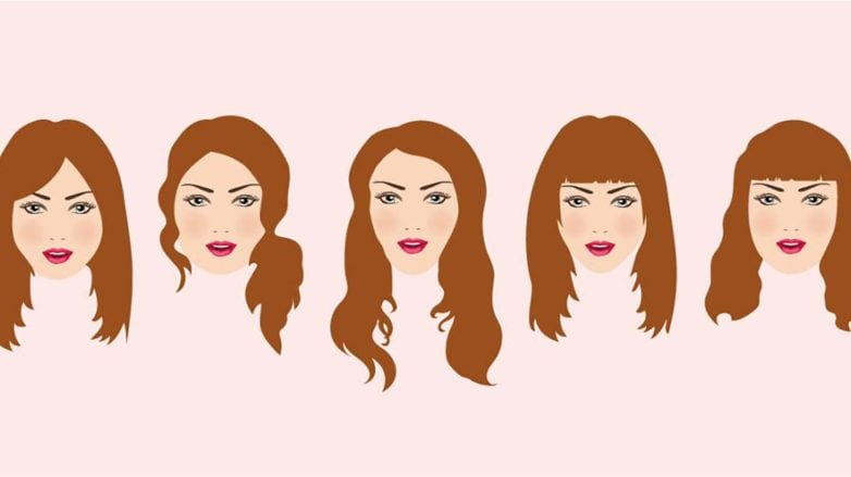 Peinados largos para tu forma de cara