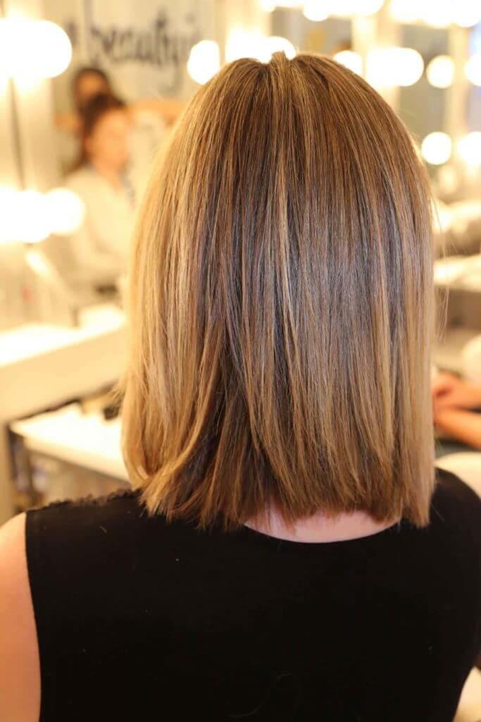 cabello lacio y liso