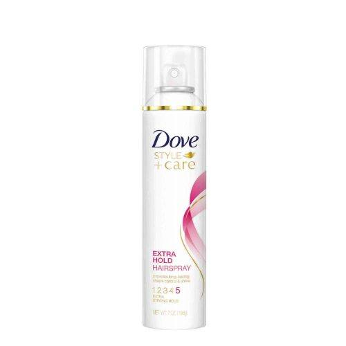 dove style care extra hold hairspray