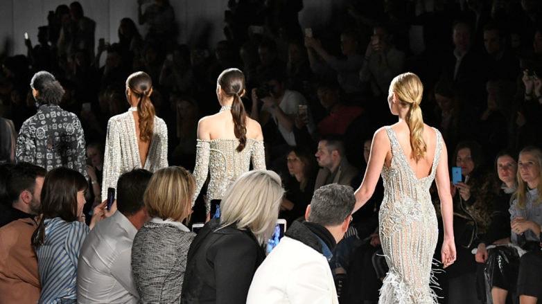 modelos de la semana de la moda