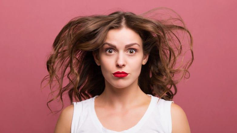 pelo fino agregarle volumen al cabello pelo alborotado