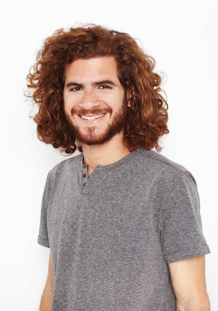 cabello rizado