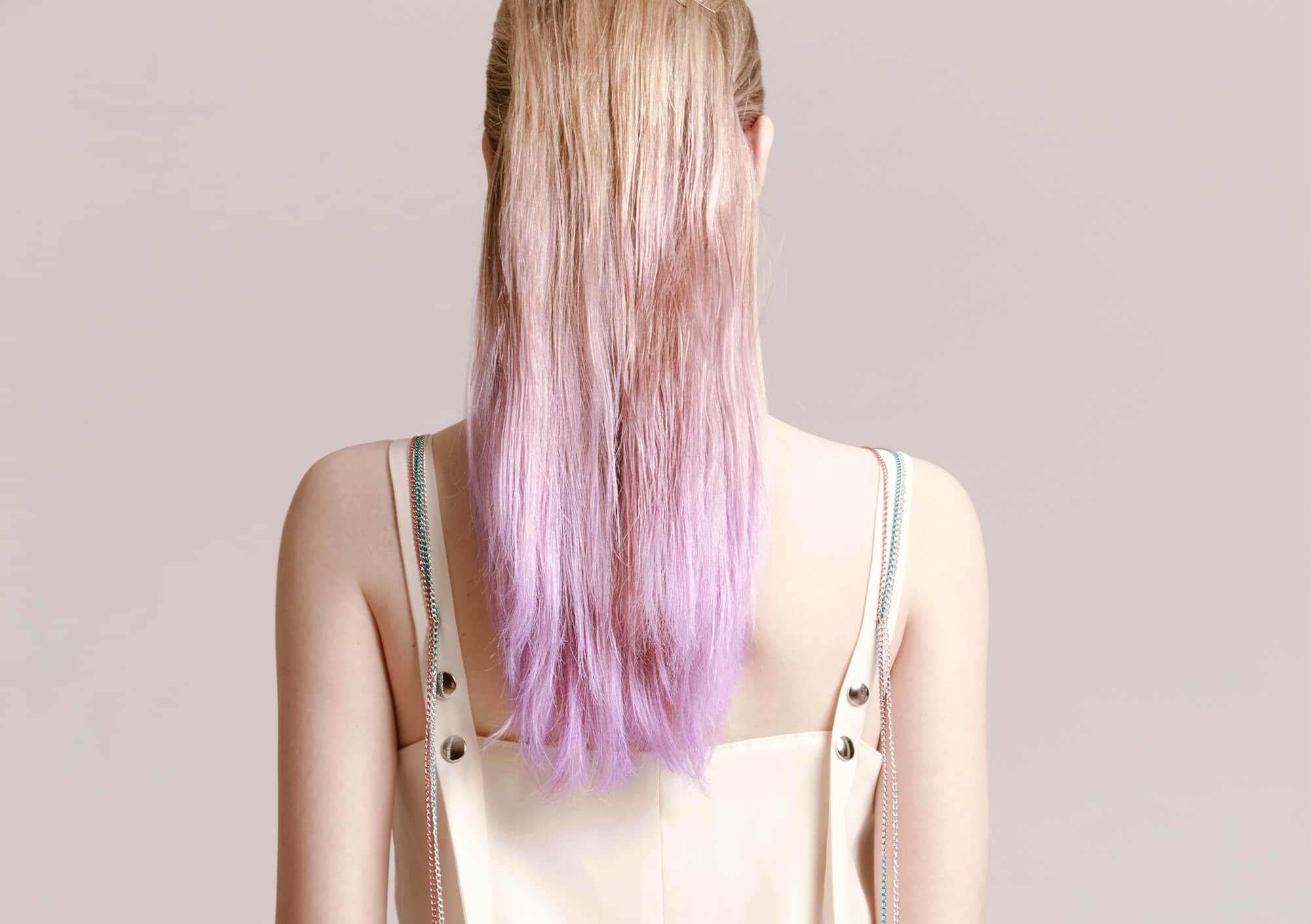 mechas balayage cabello decolorado