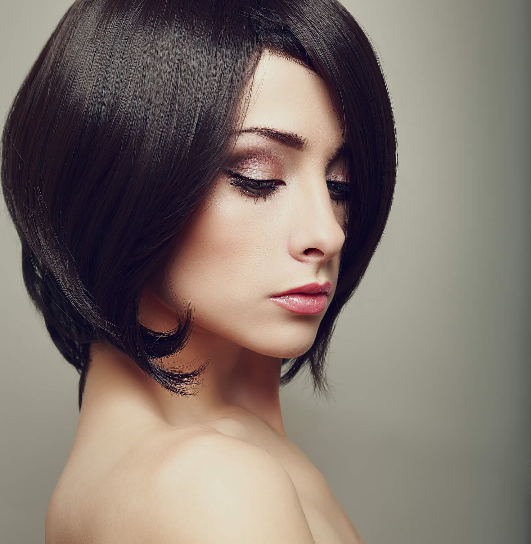 peinados para caras cuadradas lob en capas