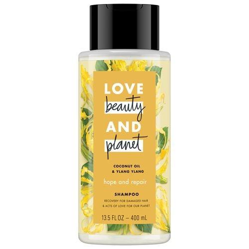 LOVE, BEAUTY and PLANET COCONUT OIL & YLANG YLANG SHAMPOO