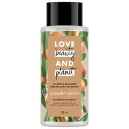 LOVE, BEAUTY and PLANET SHEA BUTTER & SANDALWOOD SHAMPOO