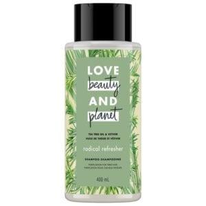 LOVE BEAUTY and PLANET TEA TREE OIL & VETIVER SHAMPOO
