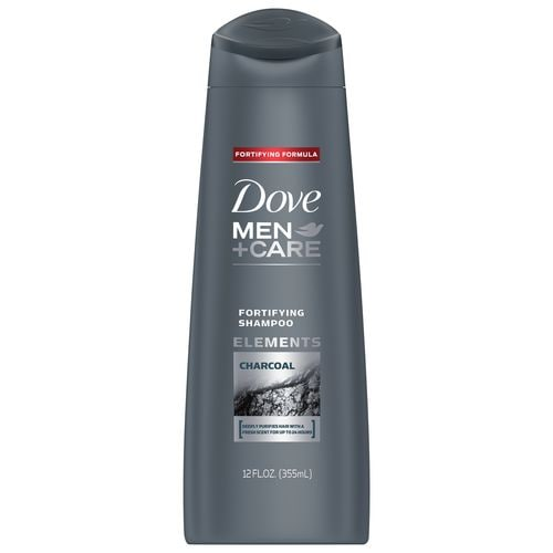 DOVE MEN+CARE ELEMENTS CHARCOAL FORTIFYING SHAMPOO