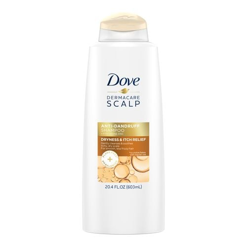 DOVE DERMACARE SCALP DRYNESS AND ITCH RELIEF ANTI-DANDRUFF SHAMPOO
