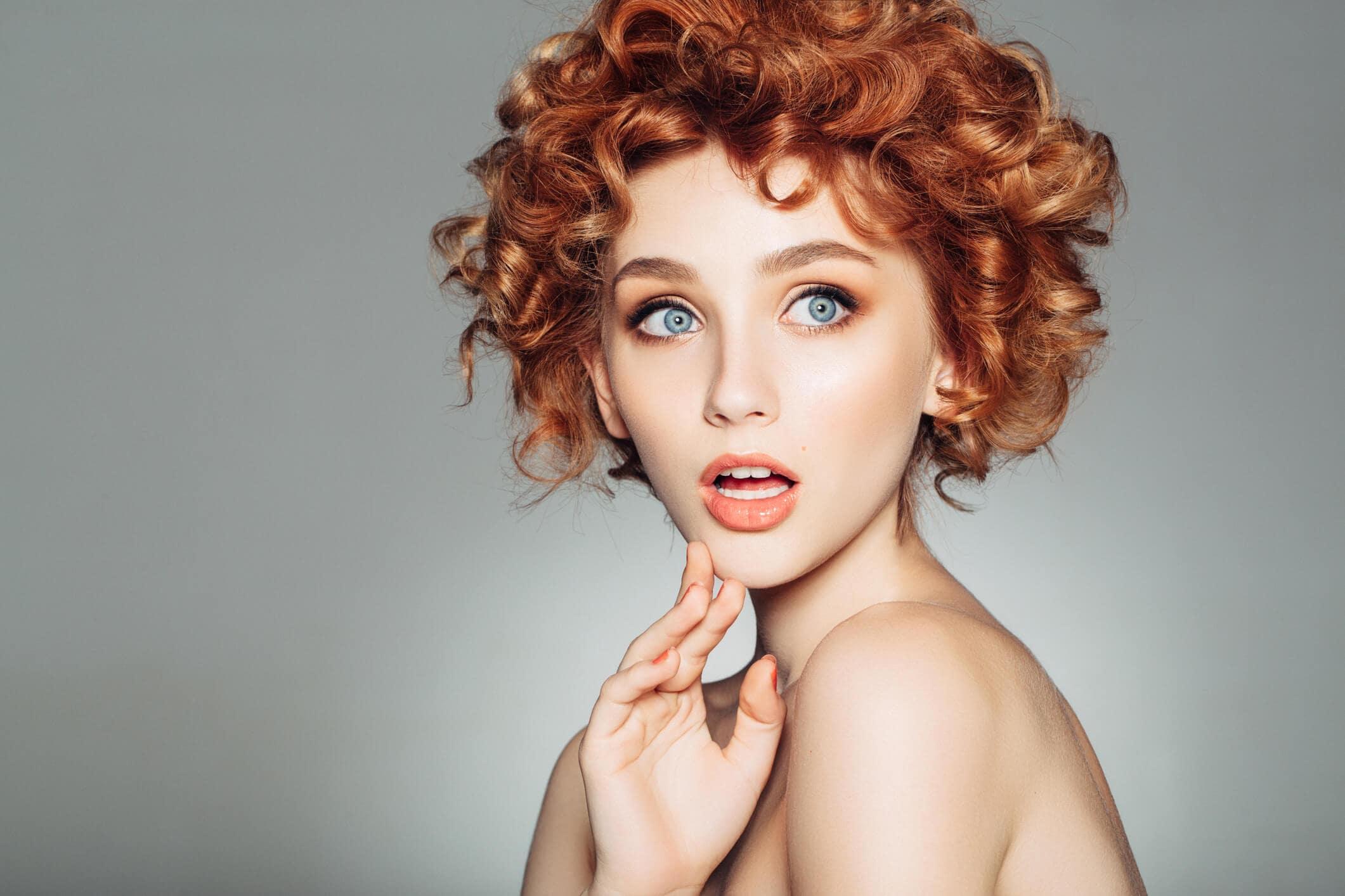 Imagenes de cabello corto rojo