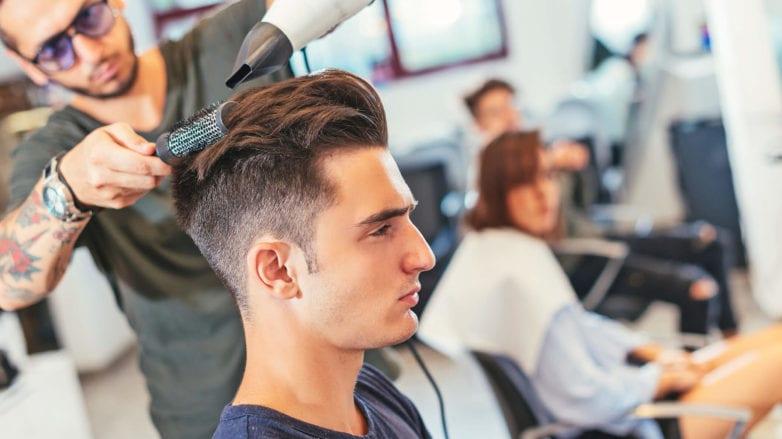 corte de pelo sombreado