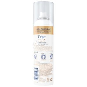 DOVE REFRESH AND CARE UNSCENTED DRY SHAMPOO