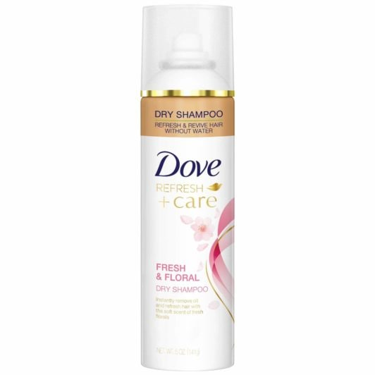 DOVE FRESH AND FLORAL DRY SHAMPOO