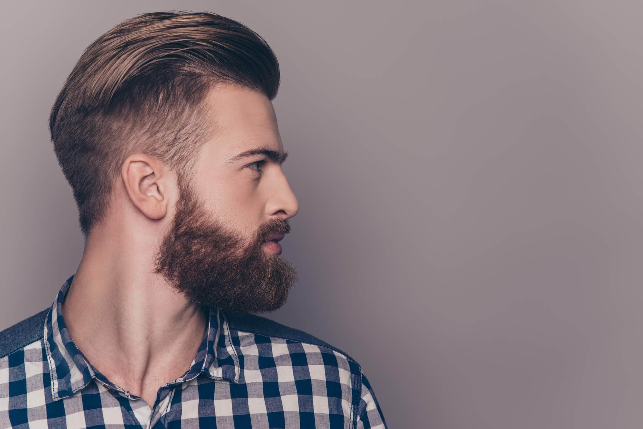 corte de pelo comb over