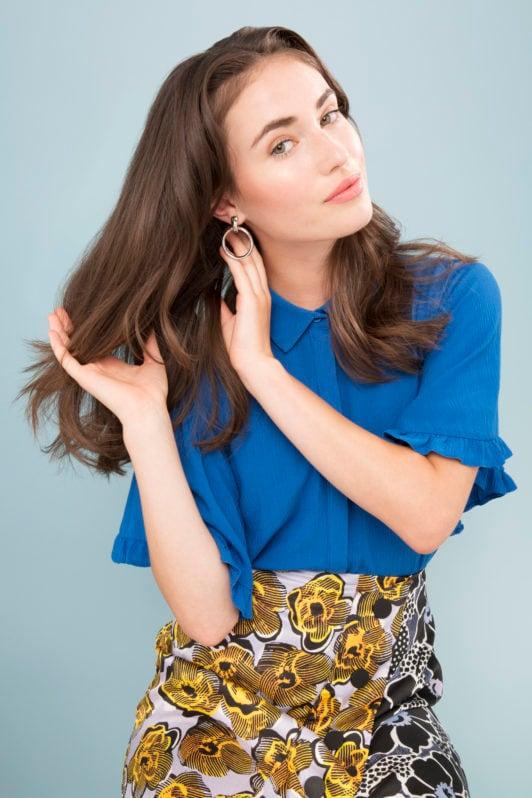 cómo usar los rulos para el cabello