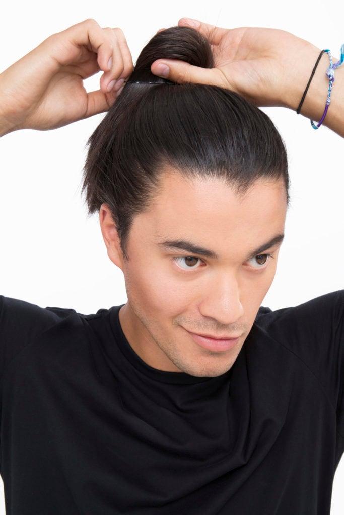 peinado samurai