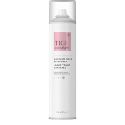 COPYRIGHT by TIGI CUSTOM COMPLETE MAXIMUM HOLD SPRAY