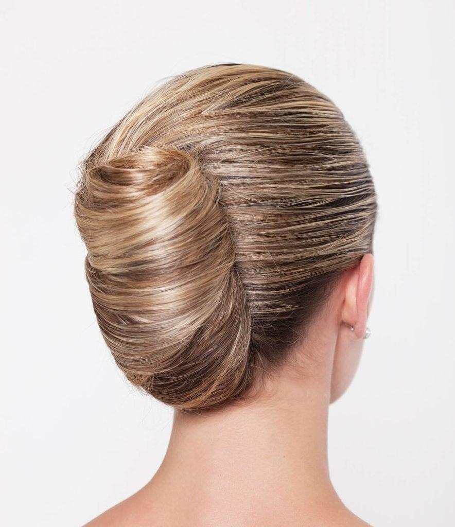 peinados elegantes recogidos torzada gigante