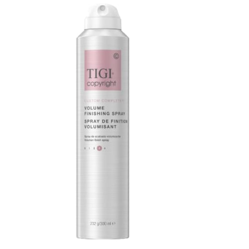 COPYRIGHT by TIGI CUSTOM COMPLETE VOLUME FINISHING SPRAY