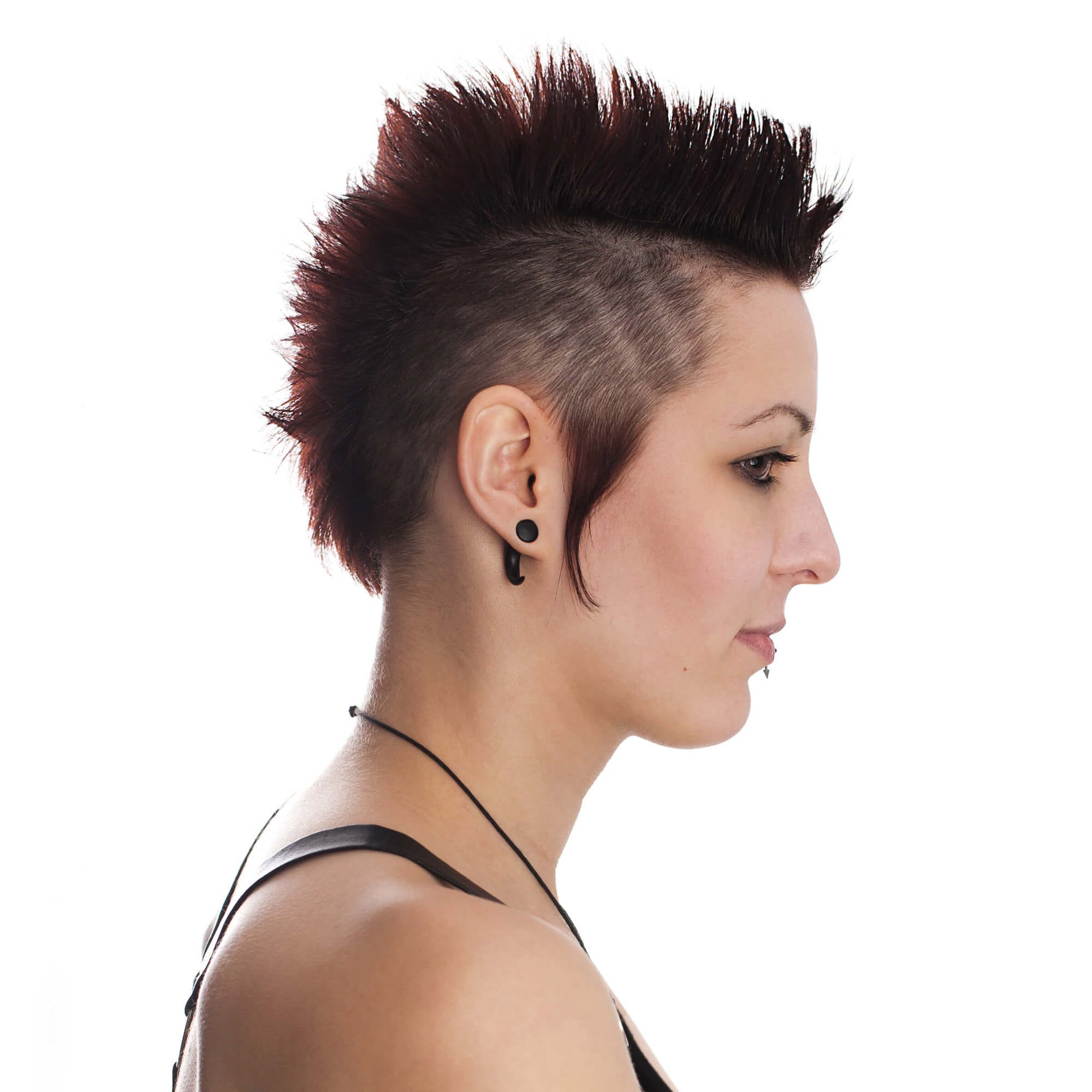 corte de pelo mohawk clásico