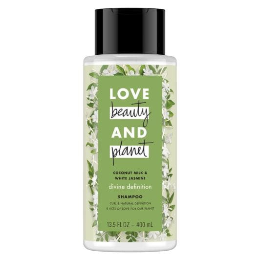 LOVE, BEAUTY and PLANET COCONUT MILK & WHITE JASMINE SHAMPOO