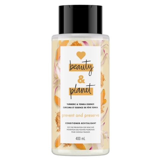 LOVE, BEAUTY and PLANET SULFATE-FREE TURMERIC & TONKA ESSENCE CONDITIONER