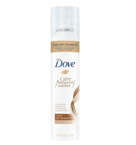 DOVE BETWEEN WASHES FOAM DRY SHAMPOO