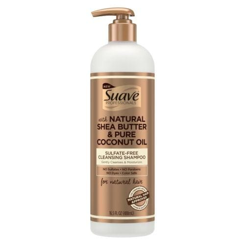 SUAVE SULFATE-FREE CLEANSING SHAMPOO