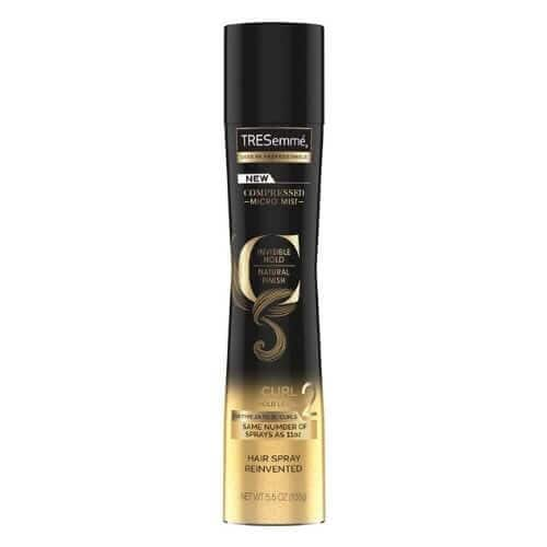 TRESemmé TRES COMPRESSED MICRO-MIST LEVEL 2 HOLD CURL HAIR SPRAY